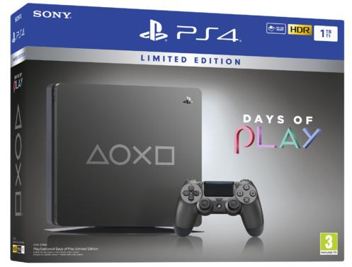 PlayStation®4 1TB Days of Play Limited Edition Konsoll