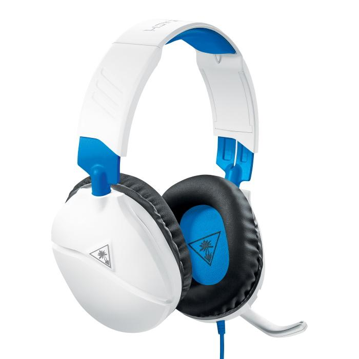 Turtle Beach® White Recon 70 Headset til PS4