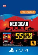 Red Dead Redemption 2: 55 gullbarrer til PS4