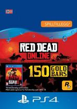 Red Dead Redemption 2: 150 gullbarrer til PS4