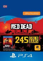 Red Dead Redemption 2: 245 gullbarrer til PS4