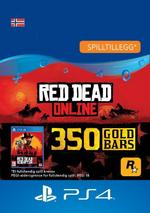 Red Dead Redemption 2: 350 gullbarrer til PS4
