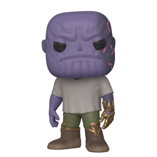 POP Marvel: Endgame - Casual Thanos with Gauntlet