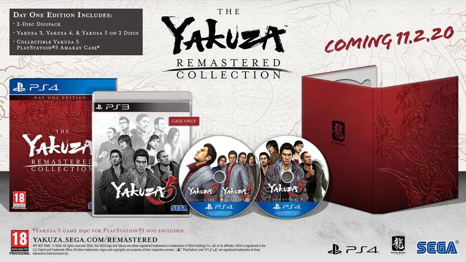The Yakuza Remastered Collection Day One Edition